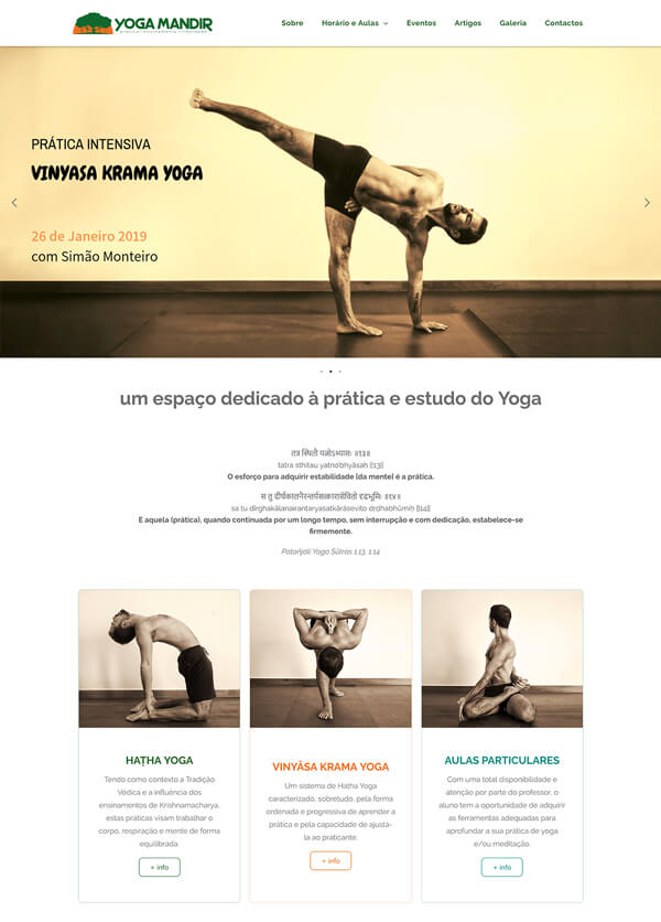 website: Yoga Mandir